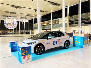 Fancy winning a brand new car for just £1?