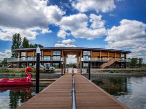 Take a sneak peek at Willen Lake's brand-new Watersports Centre
