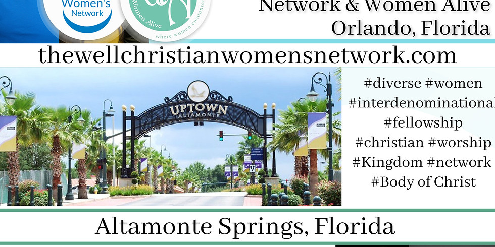 The Well CWN and Women Alive Orlando  (1)