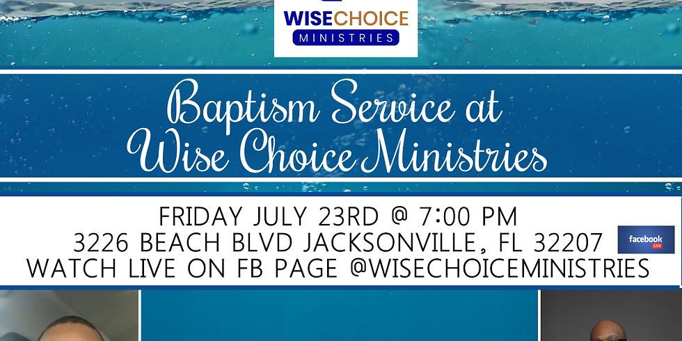Friday Night Engage  Worship and Baptism Service