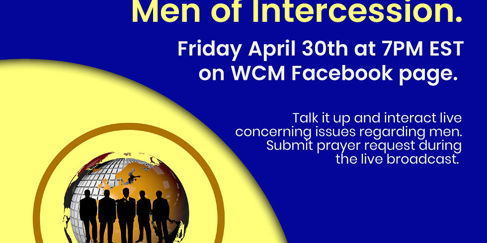 WCM Men' Special with Men of Intercession