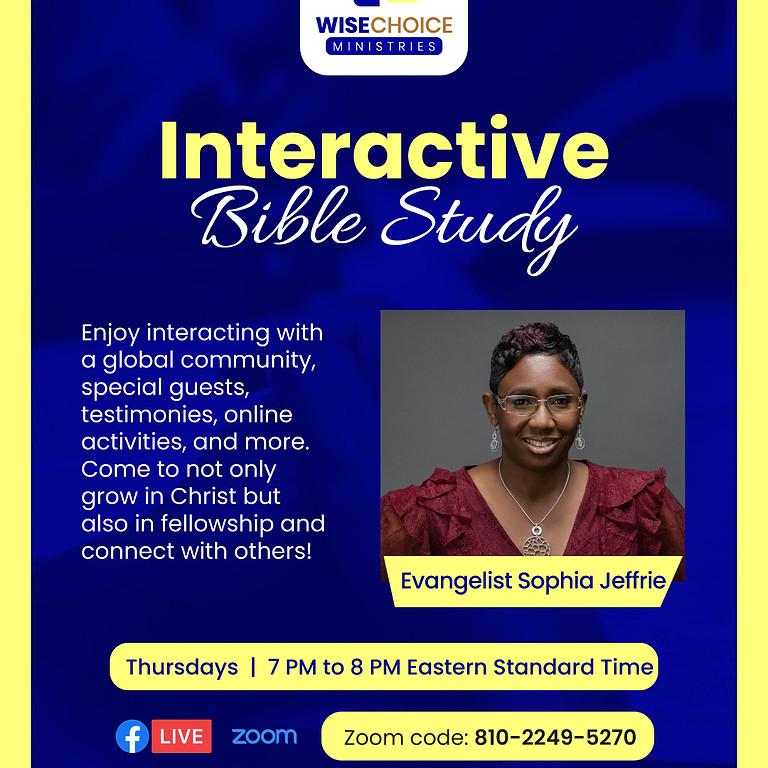 WCM Interactive Online Bible Study