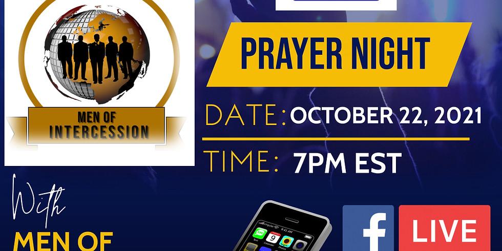 Prayer Night with Men of Intercession