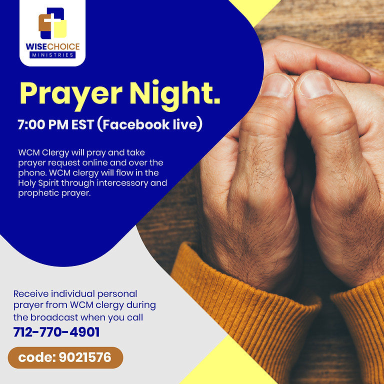 WCM Prayer Night