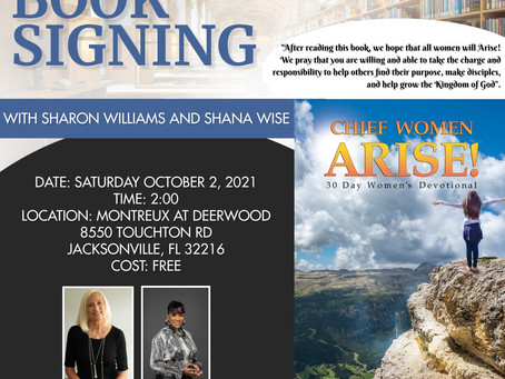 RSVP for upcoming book signing!