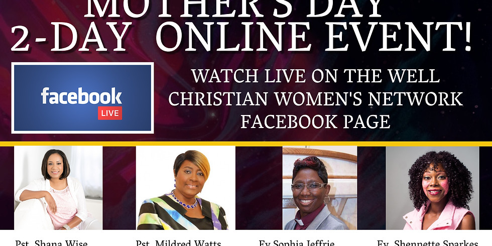 Mother's Day Facebook Live Event