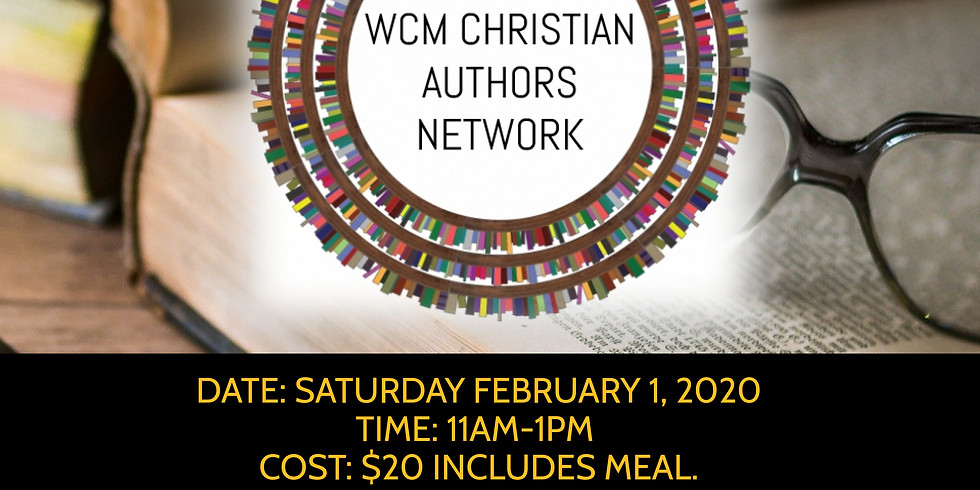 WCM Christian Authors Network Open House