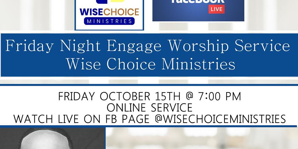 Friday Night Engage with Pastor Washington