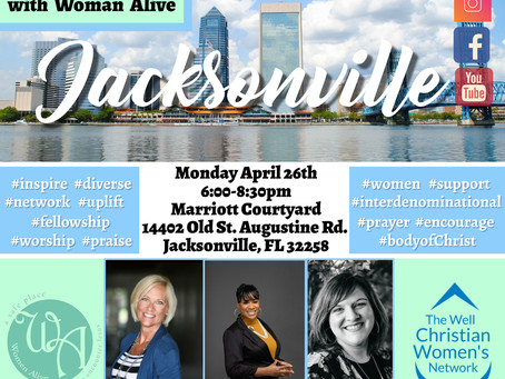 Meeting this Monday in Jacksonville!