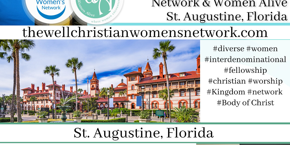The Well CWN with Women Alive Meeting  St. Augustine