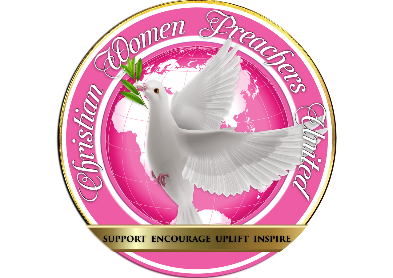 THE OFFICIAL LOGO CHRISTIAN WOMEN PREACH