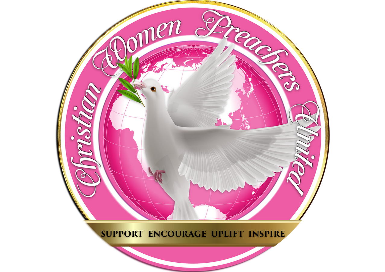 THE OFFICIAL LOGO CHRISTIAN WOMEN PREACH