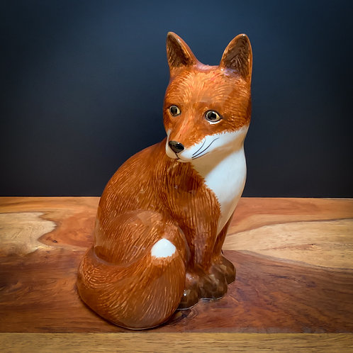 Quail Ceramic Foxy Money Box