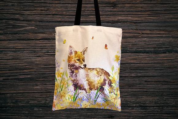 ButterflyFox Tote Bag