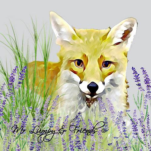 Foxy Loxy Glass Chopping Board