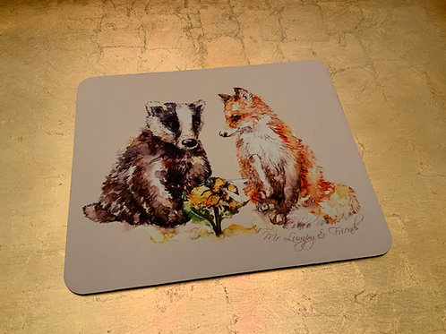 Let's Bee Friends Computer Mouse Mat