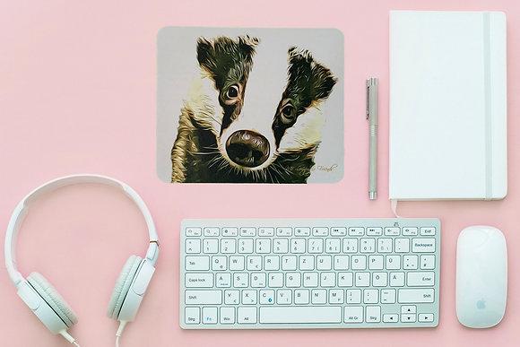 Baby Bumpy Badger Computer Mouse Mat