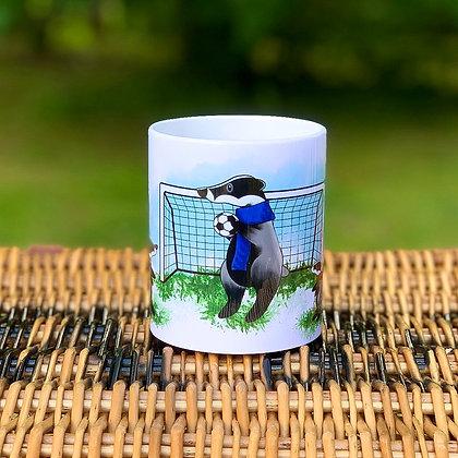 Sporty Badger Mug