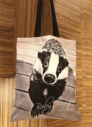 Baby Bumpy Badger Tote Bag