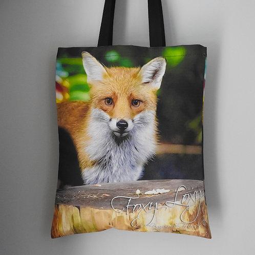 Fox Loxy Tote Bag