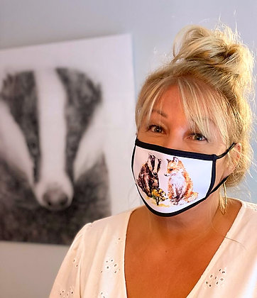 Lets Bee Friends Face Covering