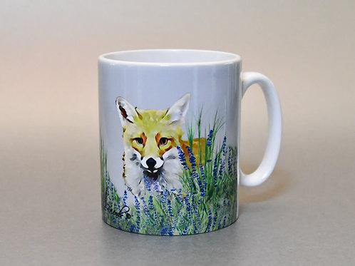 Foxy Loxy Lavender Mug