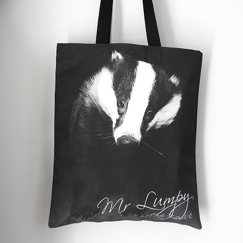 Mr Lumpy Iconic Badger Tote Bag