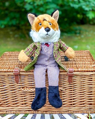 Mr Fox Dressed Hand Puppet