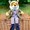 Thumbnail: Mr Fox Dressed Hand Puppet