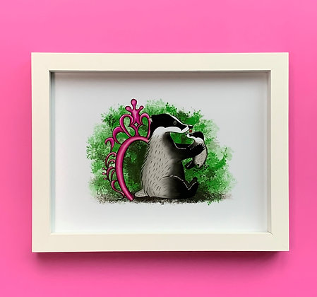 Mother's Love White Box Frame Picture