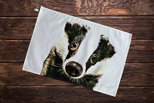 Bumpy Face Badger T-Towel