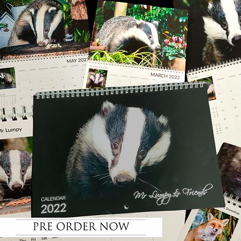 Mr Lumpy & Friends Wall Calendar 2022