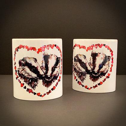Love Badgers Mug