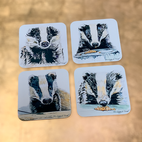 """The Sett"" Drinks Coasters"