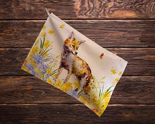 Butterfly Fox T-Towel