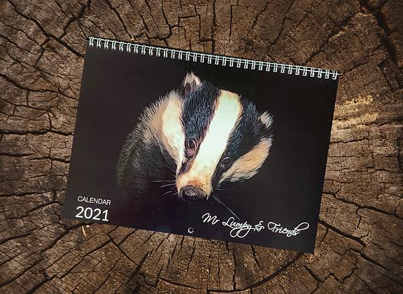 Mr Lumpy & Friends Calendar 2021