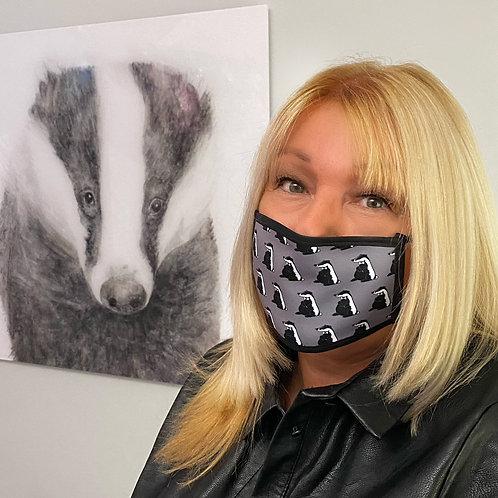 Dapper Badger Face Covering