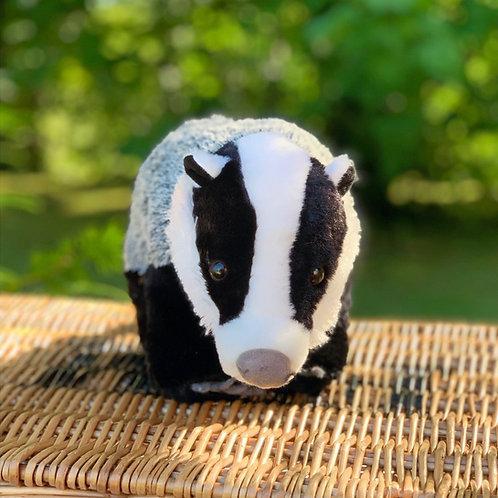 Mr Lumpy Badger Soft Plush Toy
