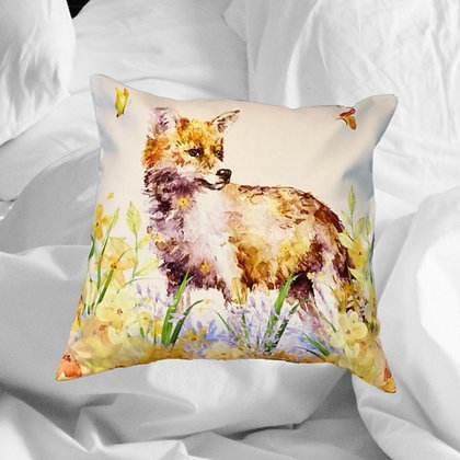 Butterfly Fox Cushion