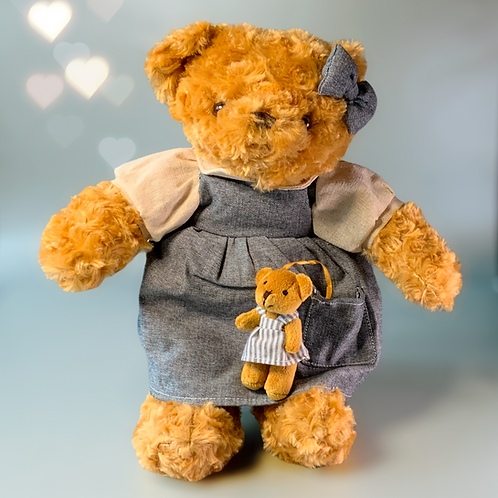 Mummy Bear Soft Plush Toy