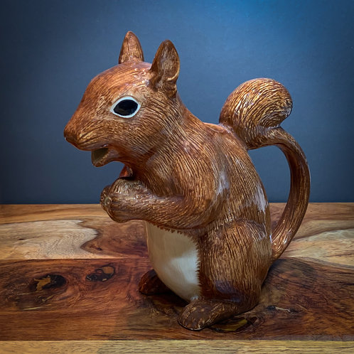 Quail Ceramic Squirrel Jug
