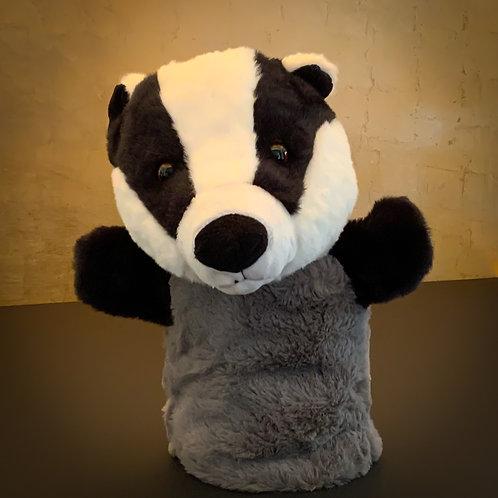 Mr Badger Buddie Hand Puppet