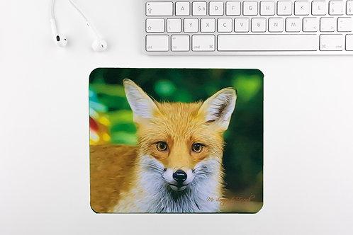 Foxy Loxy Computer Mouse Mat