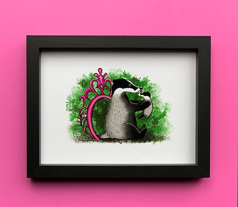 Mother's Love Black Box Frame Picture