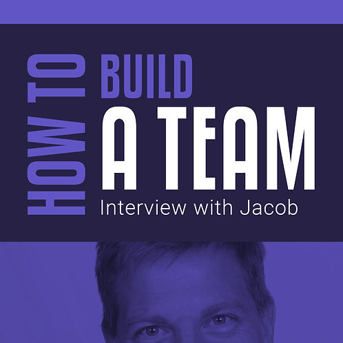 HOW TO BUILD A TEAM