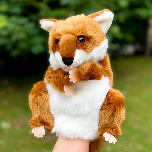 Mr Fox Hand Puppet