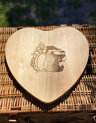 Heart Wooden Chopping / Cheese  Board