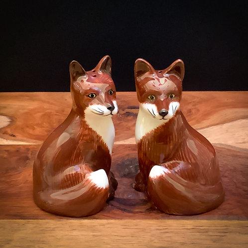 Quail Ceramic Foxy Salt & Pepper Pots