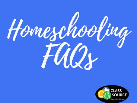 """""""Homeschooling FAQs"""" #10"""