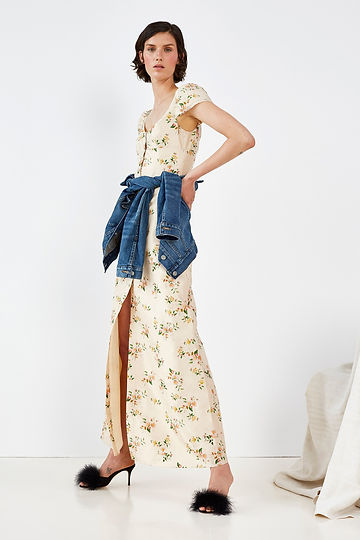 Brock Collection Resort 2018 Look 10